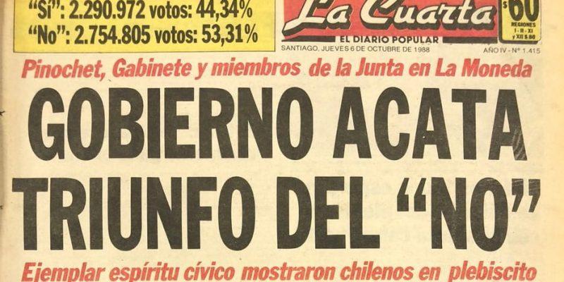 plebiscito chile 1988