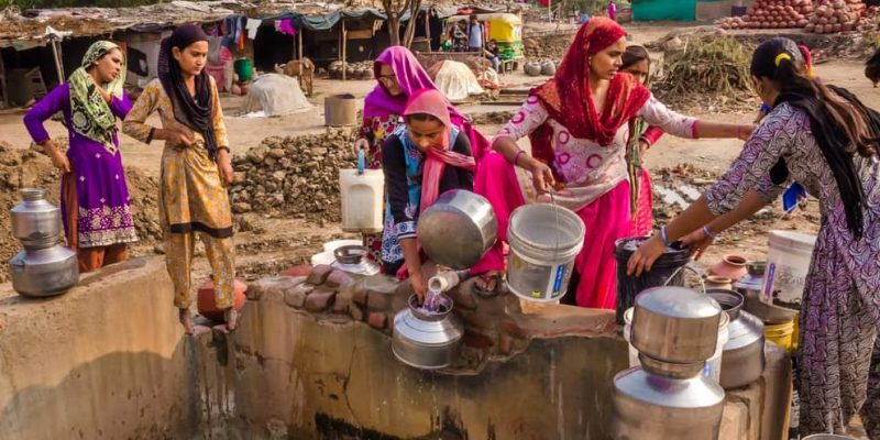 escasez agua