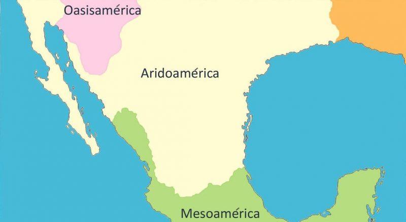 aridoamerica mapa ubicacion
