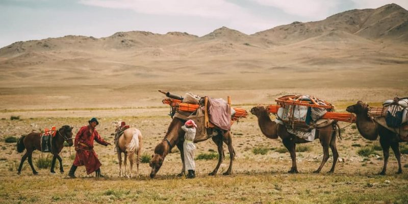pueblos nomadas y sedentarios