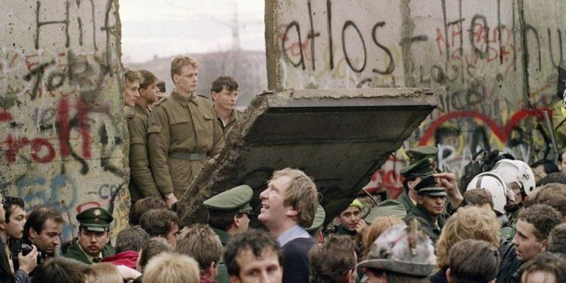 guerra fria final caida del muro de berlin