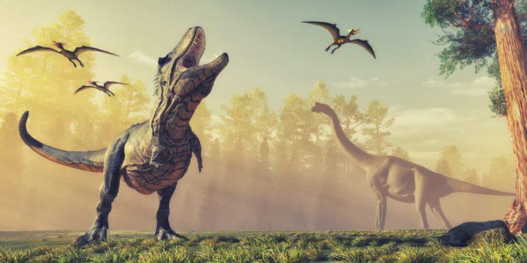historia de los dinosaurios