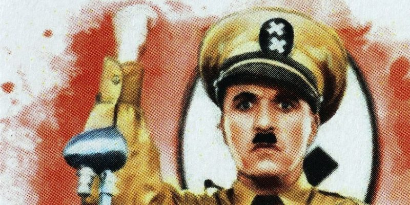 parodia el gran dictador chaplin