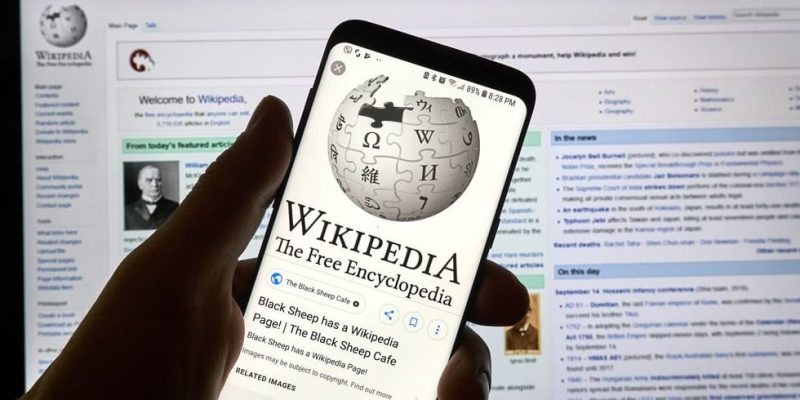 trabajo colaborativo wikipedia