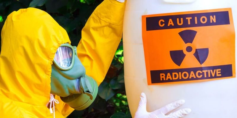 basura tratamiento radioactiva