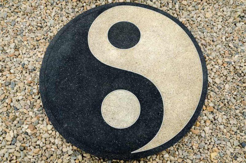 yin yang simbolo