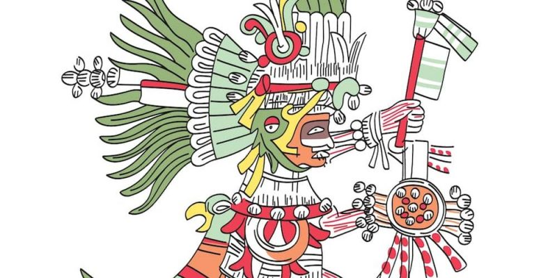 dioses aztecas Huitzilopochtli