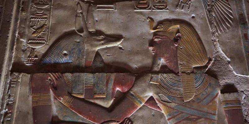 dioses del antiguo egipto anubis