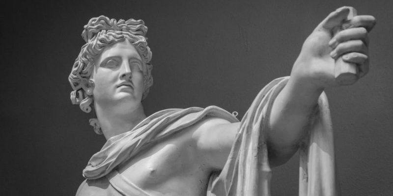 dioses griegos de la Antigüedad apolo