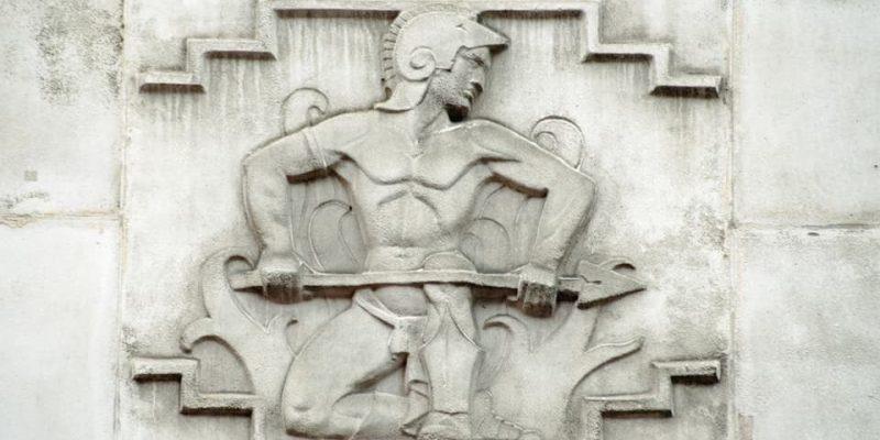 dioses griegos de la Antigüedad hefesto