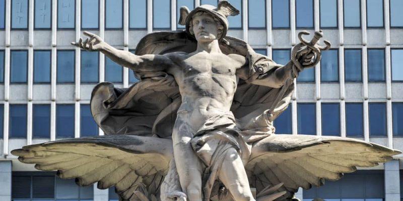 dioses griegos de la Antigüedad hermes