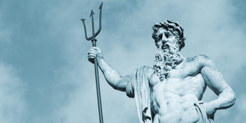 dioses griegos de la Antigüedad poseidon