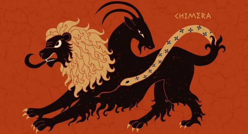 quimera mitologia griega